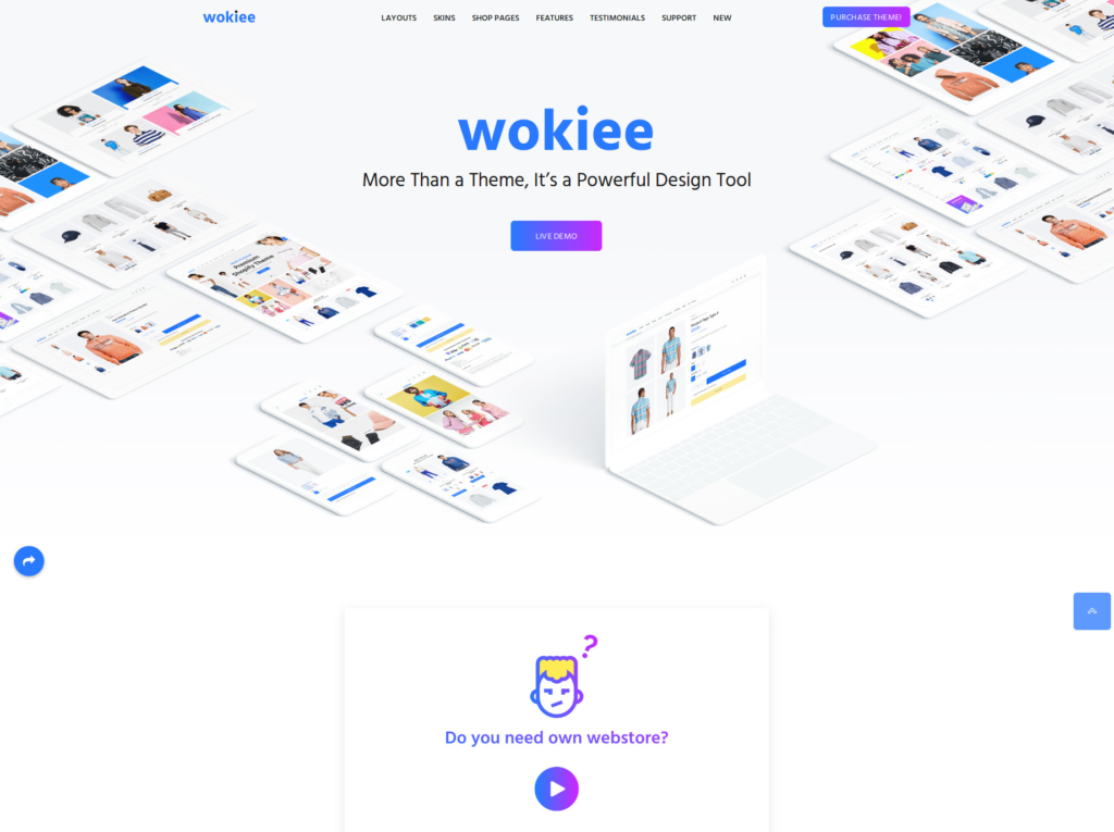 Best-Selling E-commerce Website Templates