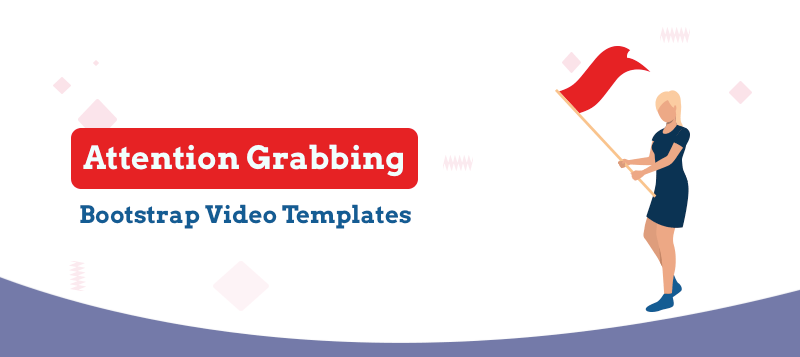 15+ Attention-Grabbing Bootstrap Video Website Templates You Don't Want to Miss