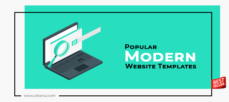 Top 10+ Popular Modern Website Templates 2019