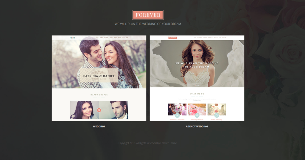 Forever Wedding Templates